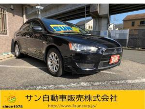 三菱 ギャランフォルティス スーパーエクシード 1オーナー ナビTV ハーフ革シート