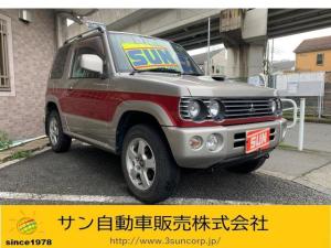 三菱 パジェロミニ リンクスX ターボ パートタイム4WD CD アルミ