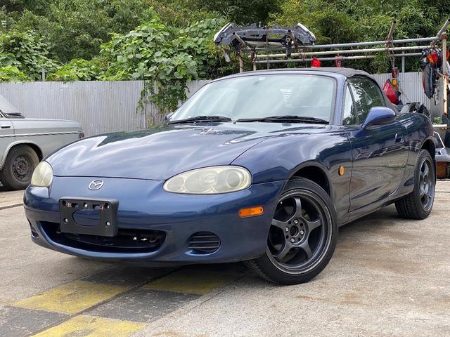 全国納車可能 マツダ ロードスター オープンカー ETC 16インチ アルミホイール 195/45R16 84W