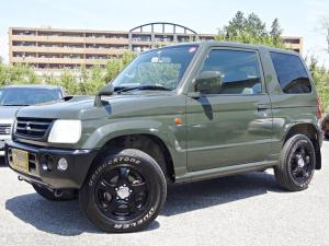 三菱 パジェロミニ V カスタムカラー 4WD ターボ 方位計 高度計 燃費計