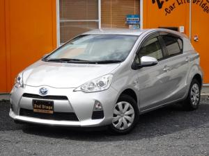 トヨタ アクア L 燃費向上ハイブリッド 8インチラージサイズSDナビ 地デジフルセグ Bluetooth機能 タイミングチェーン搭載車