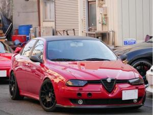 アルファロメオ アルファ156 2.5 V6 24V フェイズ1 アラゴスタ車高調 カスタム