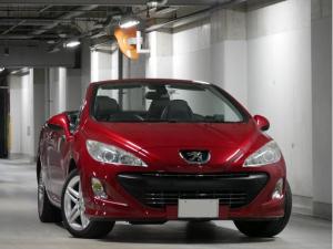 プジョー 308 CC グリフ 右H 6AT レザーシート HID メタルトップ 電動オープン シートヒーター HDDナビ