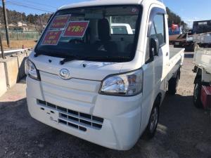ダイハツ ハイゼットトラック スタンダード 4WD・社外ナビ・ETC・パワステ・エアバック・エアコン