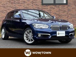 BMW 1シリーズ 118d スタイル 純正ナビ バックカメラ コンフォートPKG インテリジェントセーフティ クルーズコントロール LEDヘッドライト サーボトロニック レーンディパーチャー スマートキー