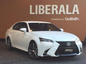 レクサス GS GS300h Fスポーツ Lexus Safety System+ レザーシート 純正19インチAW シートヒーター エアシート ステアリングヒーター