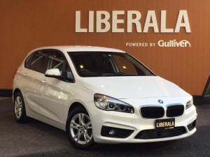 BMW 2シリーズ 218dアクティブツアラー コンフォートPKG プラスPKG パーキングサポートPKG 衝突軽減B 車線逸脱警告 HDDナビ バックカメラ リヤPDC ワンオーナー LEDライト コンフォートアクセス パワーバックドア ETC