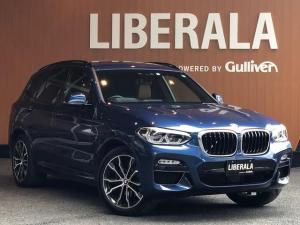 BMW X3 xDrive 20d Mスポーツ セレクトPKG ハイラインPKG イノベーションPKG パノラマSR harman/kardon HDDナビ 全方位カメラ TV 20AW 茶革 シートヒーター ドライビングアシスト パワーバックドア