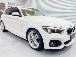BMW 1シリーズ 116i Mスポーツ 1年保証 後期モデル 衝突安全ブレーキ レーンキープアシスト アダプティブクルーズ 禁煙車 プッシュスタート Mスポ純正18インチアルミ フルオートエアコン ナビ Bluetooth音楽 ETC2.0