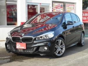 BMW 2シリーズ 218iアクティブツアラー Mスポーツ インテリジェントセーフティー アドバンスドパーキングサポートパッケージ コンフォートパッケージ レザーパッケージ 純正ナビ バックモニター LEDヘッドランプ フォグランプ 純正18インチアルミ