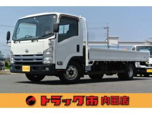 日産 アトラストラック 3.0トン ワイド超ロング全低床平床エルフOEM 3.0トンワイド超ロング全低床平ボディー いすゞエルフOEM車