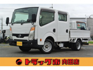 日産 アトラストラック 1.25トンWキャブ超低床平ボディーDX