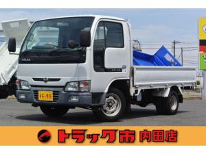 日産 アトラストラック DX 積載1.5t 超低床平ボディ フロア5速マニュアル