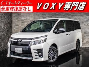 トヨタ ヴォクシー ZS 煌 両側自動ドア LEDライト リアモニタ- SDナビ