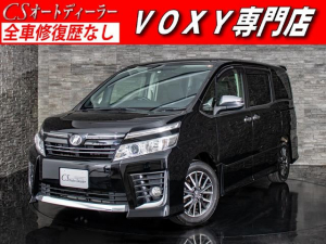 トヨタ ヴォクシー ZS 煌 両側自動ドア 後席モニター LEDライト