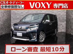 トヨタ ヴォクシー ZS 煌 特別仕様車/後席フリップダウンモニター/両側電動スライドドア/純正SDナビ/Bluetooth音楽/バックカメラ/