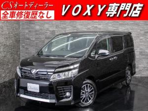 トヨタ ヴォクシー ZS 煌 ALPINEBIG-X10型ナビ/ALPINE後席フリップダウンモニター/両側電動スライドドア/バックカメラ/Bluetooth接続/アイドリングストップ