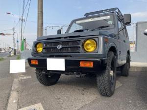 スズキ ジムニー HC CD 4WD AT カラー塗装済 タイヤ新品 荷台シート付 ブレーキ前後オーバーホール済