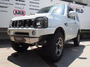 スズキ ジムニー ランドベンチャー APIOコンプリートカー TS7 10型 1オーナー オートマ車 パールホワイト 2DINナビ バックカメラ ETC