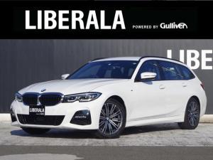 BMW 3シリーズ 320d xDriveツーリング Mスポーツ ・ACC・レザーシート・Pアシスト・18インチAW・インテリジェントセーフティ・正面・側面衝突警告・車線逸脱警告・シートヒーター・レインセンサー・ETC・アイドリングストップ・スクリーンミラーリング