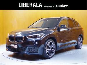 BMW X1 xDrive 18d Mスポーツ 純正ナビ バックカメラ 前後パークディスタンスコントロール コンフォートアクセス パワーバックドア LEDヘッドライト 純正19インチAW 1オーナー
