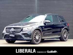 メルセデスAMG GLC GLC43 4マチック レザーEXC/サンルーフ/ブルメスターS/黒革シート/ヘッドアップD/エアバランスP/360度カメラ/フルセグTV/全席シートヒーター/前席パワーシート/マルチビームLED/フットトランクオープナー