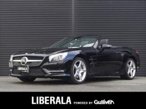 メルセデス・ベンツ SL SL350 AMGパッケージ/純正HDD/Bカメラ/ABC/レーダーセーフティP/キーレスゴー/マジックスカイルーフ/黒革/全席Pシート・ヒーター/全席エアスカーフ/全席エアシート/電動リアゲート/左ハンドル