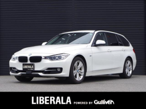 BMW 3シリーズ 320dツーリング スポーツ インテリジェントセーフティ/ACC/LKA/コンフォートA/純正ナビ/パワーシート/電動リアゲート/リアビューカメラ/前ドラレコ/ミラー型ETC/コーナーセンサー/取説/保証書/スペアキー