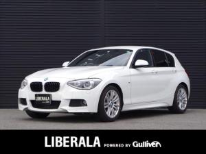 BMW 1シリーズ 116i Mスポーツ 純正HDDナビ/バックカメラ/Bluetooth/HIDヘッドライト/オートライト/パークDC/ETC/アイドリングストップ/レインセンサー/取扱説明書/保証書/記録簿H29/H30/R2