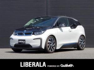 BMW i3 スイート レンジ・エクステンダー装備車 茶革/純正HDDナビ/バックカメラ/インテリジェントS/ミラー型ETC/パーキングサポート/コンフォートアクセス/追従クルコン/シートヒーター/純正19インチAW/充電ケーブル付属/保証書