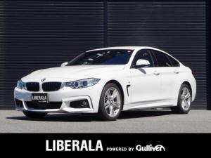BMW 4シリーズ 420iグランクーペ Mスポーツ 1オーナー/赤革/追従クルコン/パワーシート/シートヒーター/LKA/リアソナー/コンフォートA/電動リアゲート/保証書/取説/記録簿/スペアキー