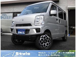 スズキ エブリイ ジョインターボ 5MT 4WD 新車 AxStyleコンプリート フロントショートバンパー 30mmリフトアップサスペンション 15インチタイヤ&ホイール 構造変更不要