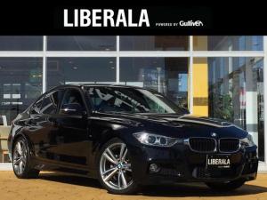 BMW 3シリーズ 320d Mスポーツ 追従型クルーズコントロール コンフォートアクセス インテリジェントセーフティ レーンディパーチャーウォーニング 純正HDDナビ バックカメラ ETC 純正19インチAW リアコーナーセンサー