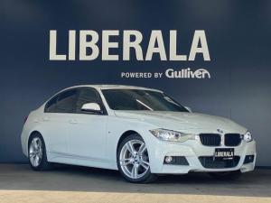 BMW 3シリーズ 320d Mスポーツ iDriveナビ リヤビューカメラ ドライビングアシスト コンフォートアクセス 専用ステアリング クルーズコントロール HID 前席パワーシート 保証書 取扱説明書 スペアキー有り