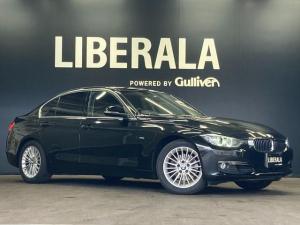 BMW 3シリーズ 320iラグジュアリー 黒革 純正ナビ 電動シート HID シートヒーター ビルドインETC コンフォートアクセス