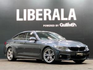 BMW 4シリーズ 420iグランクーペ Mスポーツ 純正ナビ バックカメラ 電動リアゲート 電動シート ARORAYマフラー ミラー型ETC HIDヘッドライト