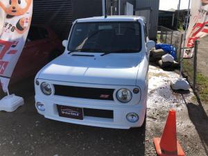スズキ アルトラパン SS・4WD・コラムAT・ETC付・フロントガラス新品