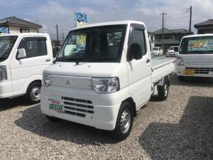 三菱 ミニキャブトラック みのり 4WD AC MT 軽トラック 2名乗り ホワイト