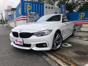 BMW 4シリーズ 435iクーペ Mスポーツ 純正ナビ 左ハンドル サンルーフ