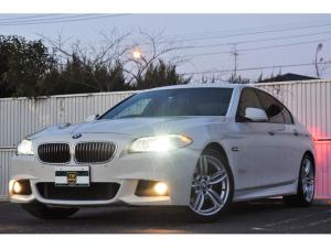 BMW 5シリーズ 523i Mスポーツパッケージ サンルーフ マルチ ETC地デジ Bカメラ 正規ディーラー車 専用19インチアルミホイール 地デジ