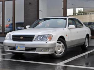 トヨタ セルシオ B仕様 eRバージョン 黒本革 サンルーフ 46000km