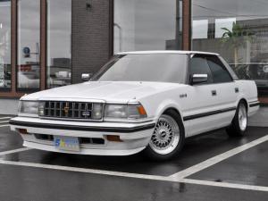 トヨタ クラウン 3.0ロイヤルサルーンG 後期型 BBSアルミ ローダウン