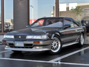 トヨタ ソアラ 2.0GT-ツインターボ  フル後期仕様 純正フルエアロ 純正5速MT BBS17インチAW ETC ブラックツートン 車高調 社外マフラー