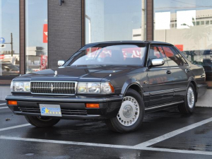 日産 セドリック ブロアムVIP ターボ 後期型 全席パワーシート 新品フジツボマフラー リアエアサス新品 新品エアフロ交換済み 新品インジェクター交換済み タイヤ新品交換済み 走行56500km