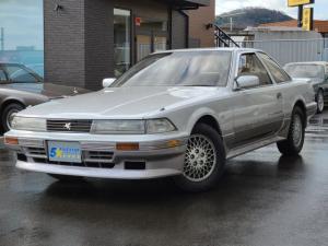 トヨタ ソアラ 2.0GT-ツインターボL 後期型 パールツートン フルエアロ リヤスポイラー パワーシート デジタルメーター 純正15インチアルミホイール