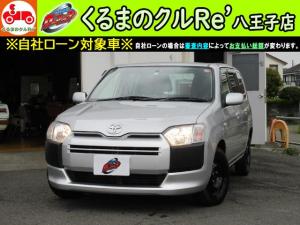 トヨタ サクシードバン  TX ETC バックモニター 社外SDナビ ユーザー買取車