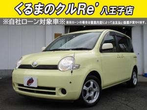 トヨタ シエンタ X ETC 純正DVDナビ バックモニター 社外15AW キーレス 記録簿 ユーザー買取車