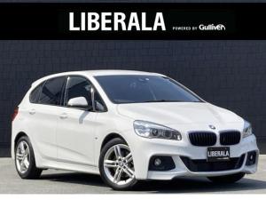 BMW 2シリーズ 218iアクティブツアラー Mスポーツ ワンオーナー インテリジェントSFT 純正HDDナビ バックカメラ 純正17インチAW アイドリングストップ クリアランスソナー  ETC  スペアキー