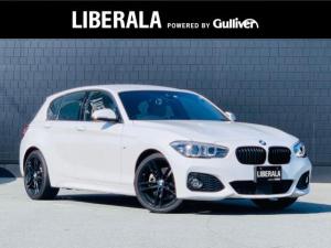 BMW 1シリーズ 118d Mスポーツ エディションシャドー ワンオーナー ブラウンレザーシート インテリジェントセーフティ コンフォートアクセス アダプティブクルーズコントロール 前席シートヒーター バックカメラ LEDヘッドライト 純正HDDナビ CD