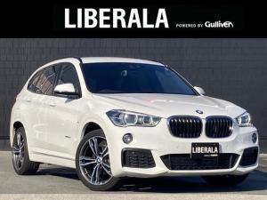 BMW X1 xDrive 18d Mスポーツ コンフォートパッケージ キックバックドア スライディングリアシート アドバンスアクティブセーフティ ACC HUD シートヒーター パワーシート クリアランスソナー 純正ナビ LEDライト